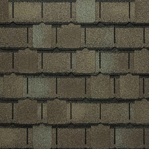 Close up of Camelot II - Weathered Timber Shingle Swatch