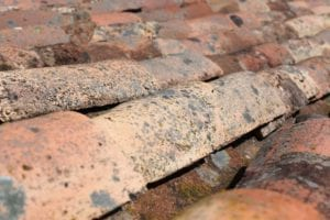 common roof problems such as decaying shingles