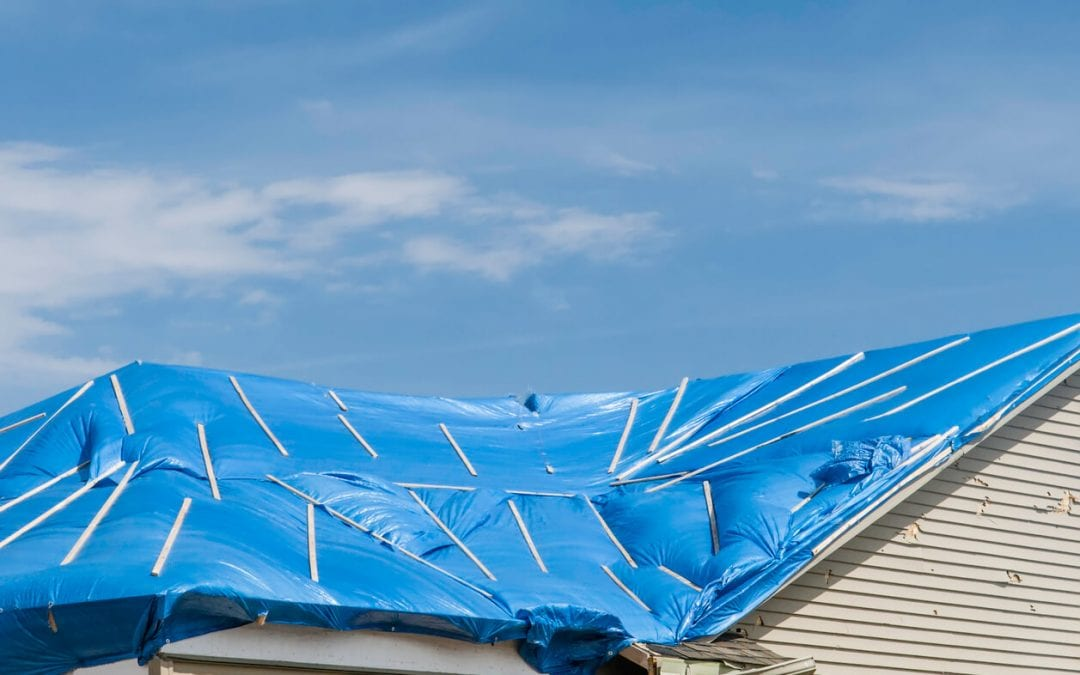 How Do I Temporarily Protect a Storm-Damaged Roof?